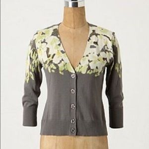 Anthropology Hanging Gardens cardigan by Tabitha